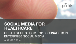 social media healthcare Sprinklr