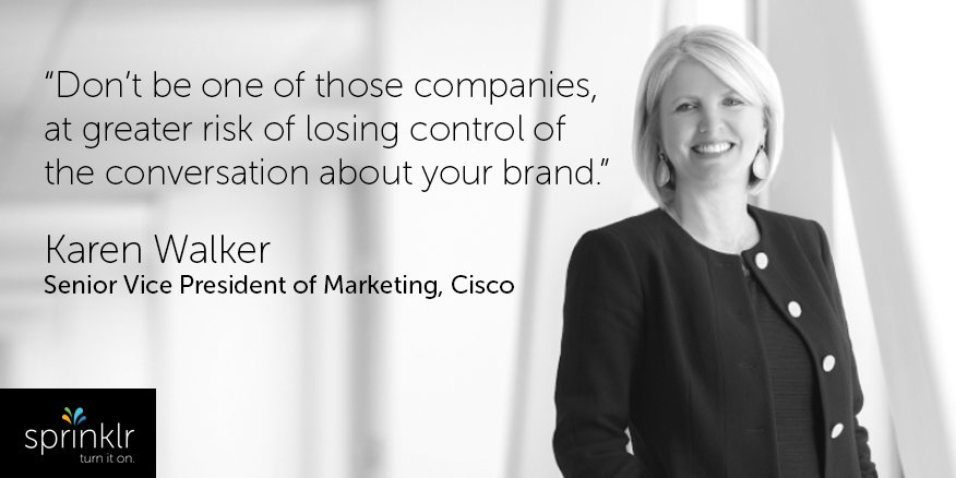 karen walker of cisco